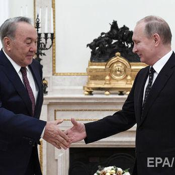 Путін обговорив із Назарбаєвим ситуацію в Україні
