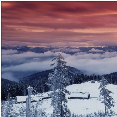 Сьогодні в Україні місцями сніг, температура до -16° (карта)
