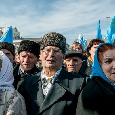 У Криму окупанти прийшли з обшуками до кримських татар, є затриманий