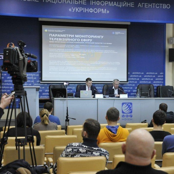 Нацрада назвала телеканали, які оминають теми Донбасу і Криму
