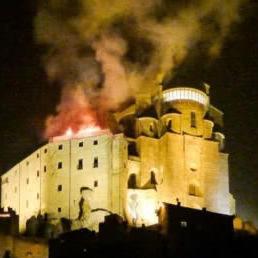 В Італії горіло абатство, що надихнуло Умберто Еко на роман «Ім'я рози»