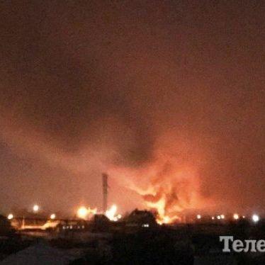 Жахливий інцидент в Кременчуці: гелікоптер врізався в телевежу (фото)
