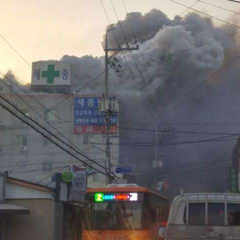 Пожежа в лікарні у Південній Кореї: понад 40 загиблих та десятки постраждалих