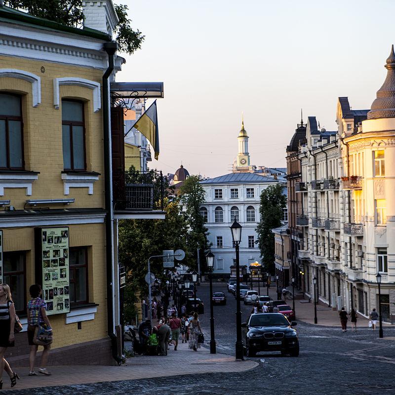 У Києві заборонили будувати 9-поверховий готель на Андріївському узвозі