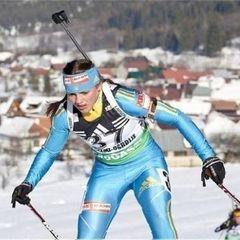 Українка Варвінець стала чемпіонкою Європи з біатлону у спринті