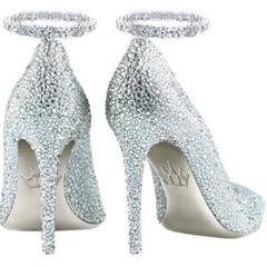 Платинові туфлі виставили на аукціон за 300 тисяч доларів (фото)