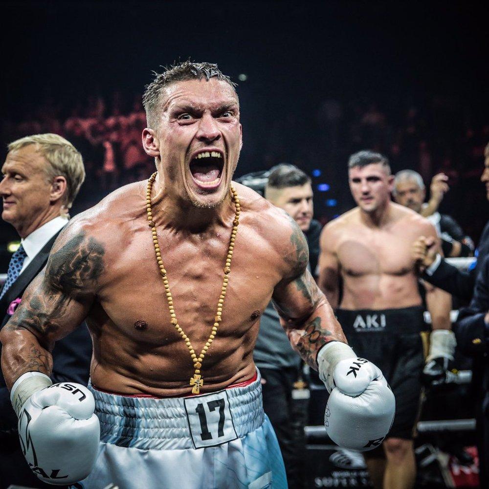 Усик повторив досягнення Володимира Кличка в історії українського боксу