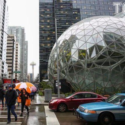 AMAZON відкрив приголомшливий сферичний офіс: люди працюватимуть серед лісу (фото)