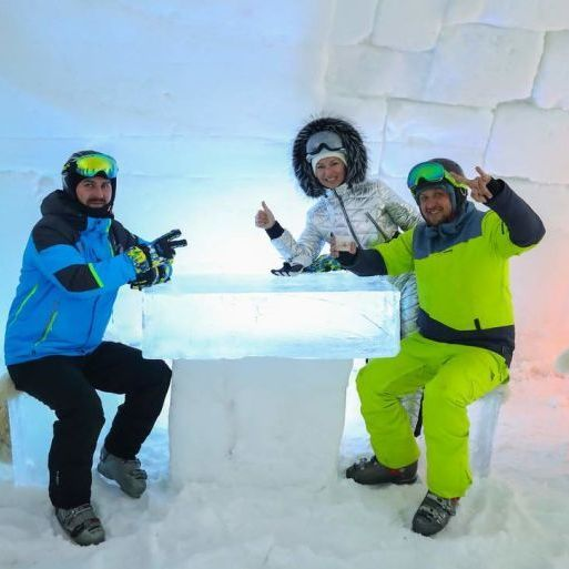 В Україні створили готель зі снігу та криги (фото, відео)
