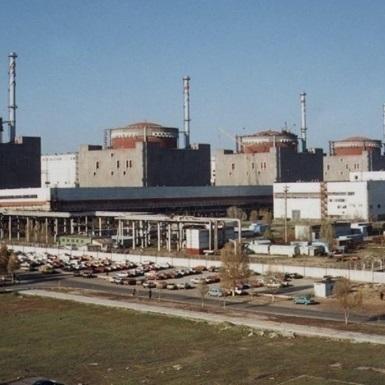 На Запорізькій АЕС розвантажився енергоблок