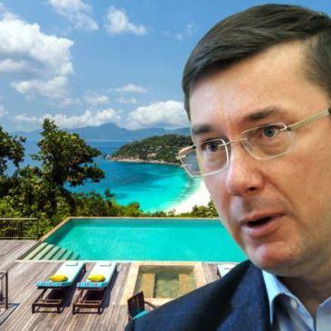 Відпочинок родини генпрокурора Луценка на Сейшелах орієнтовно вартував не менш ніж 50 тисяч євро