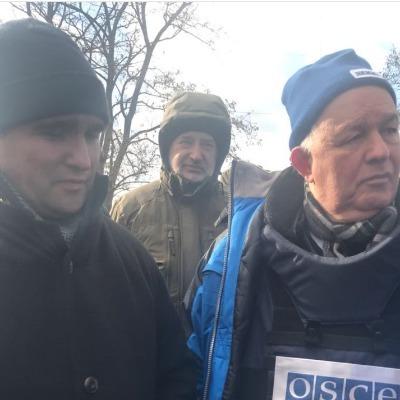 Клімкін разом із главою ОБСЄ відвідали Донбас (фото)