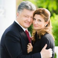 Петро Порошенко зворушливо привітав дружину з днем народження (фото)