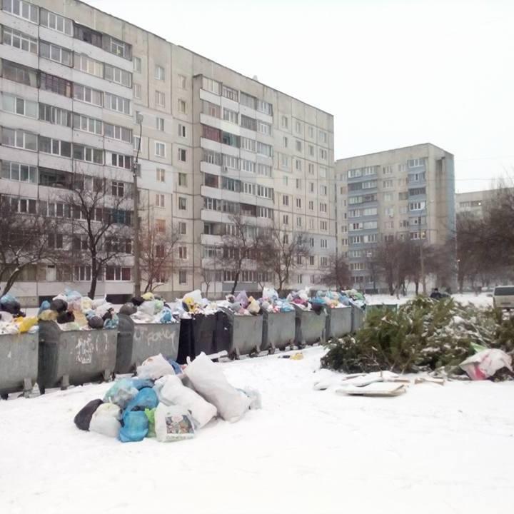 Соцмережі вразили фото і відео сміттєвого колапсу в ще одному українському місті (фото)
