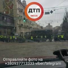 «Ми не злочинці»: у Києві протестують власники авто на єврономерах (фото)