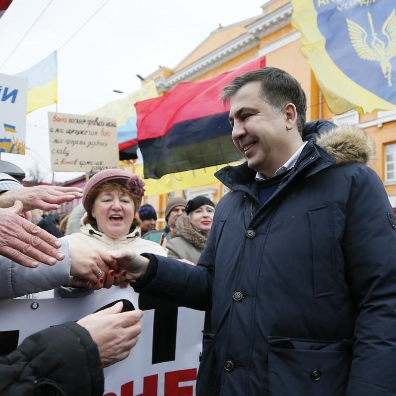 18 лютого по всій Україні пройдуть мітинги - прихильники Саакашвілі