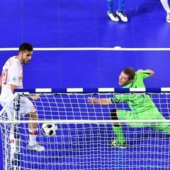 Збірна України з футзалу дала бій Іспанії, але не потрапила у півфінал Євро-2018
