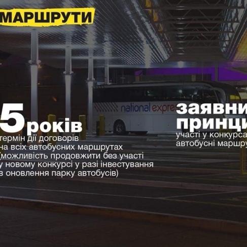 В Україні реформують автобусні перевезення