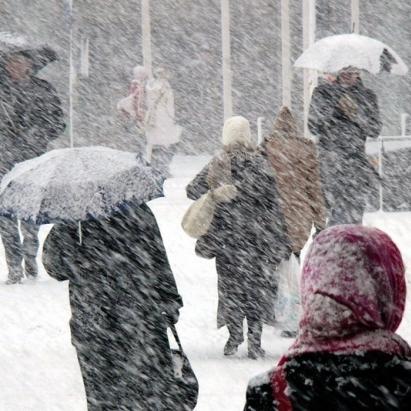 Які області 8-9 лютого накриє сильний сніг і дощ. Попередження рятувальників