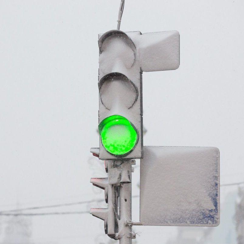 Жителів Києва попереджають про мокрий сніг, вітер та ожеледицю