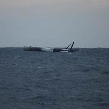 Авіація США розбомбила ракету Falcon 9, яка дрейфувала в океані