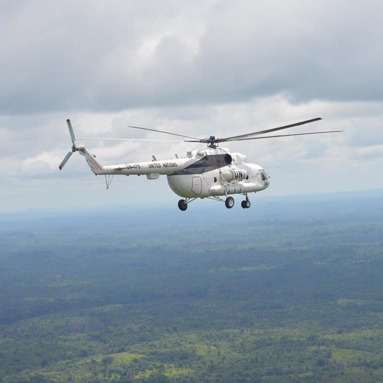 Завершилась 14-річна миротворча місія українців у Ліберії (фото)