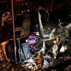 В Гонконзі розбився автобус із пасажирами: 19 загиблих (фото)