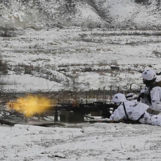 На Донбасі з початку доби окупаційні війська лише один раз обстріляли позиції українських захисників – штаб АТО