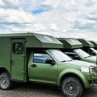 У Міноборони України повідомили, що в санітарних автомобілях «Богдан» усунуть виявлені недоліки