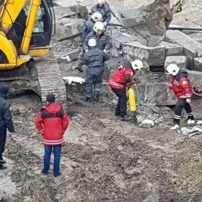 У Києві на будівництві трапилася трагедія (фото)