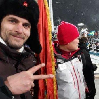 У Пхенчхані росіян вигнали із стадіону за прапор (фото)