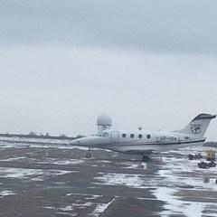 Літак, яким Саакашвілі відправили до Польщі, знайшовся у Дніпрі (фото)