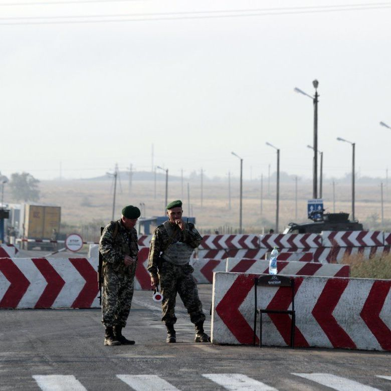 Росія ліквідує свої блокпости на адмінкордоні з Кримом - прикордонна служба