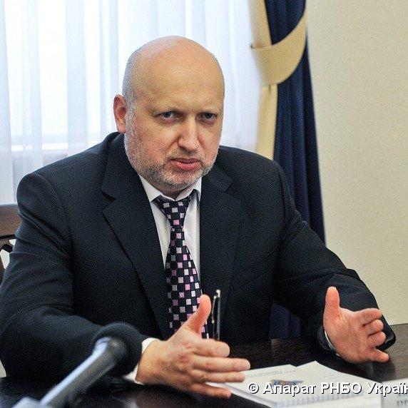 Турчинов заявив, що не наказував збивати гелікоптер, в якому летів Янукович