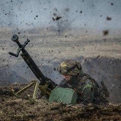 Впродовж дня бойовики обстрілювали позиції ЗСУ з мінометів різних калібрів - штаб АТО