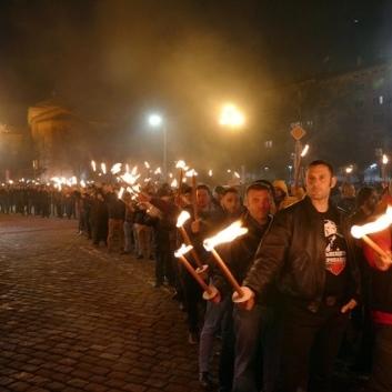У столиці Болгарії неонацисти провели марш