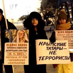 У Москві та Петербурзі пройшла акція на підтримку кримських татар