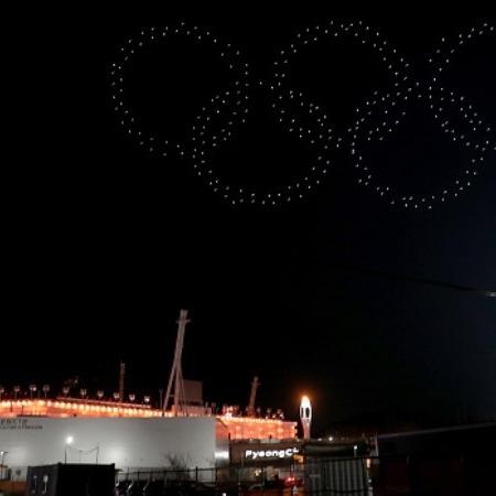 Що роблять дрони на Олімпіаді-2018: чарівні фото