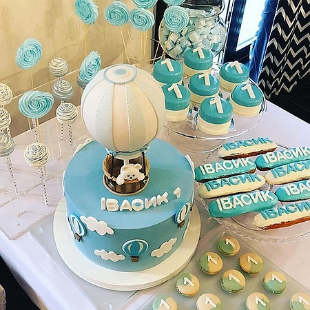 Катерина Осадча влаштувала синочку солодкий день народження (фото)