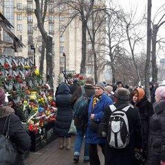 У Києві освятили місце під музей Майдану