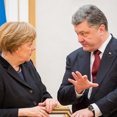 Порошенко обговорив із Меркель «Мінськ» та звільнення заручників