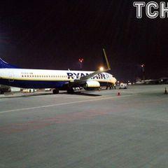 Літак Ryanair приземлився у Києві