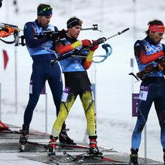 Україна потрапила до топ-10 в чоловічій естафеті з біатлону на Олімпіаді