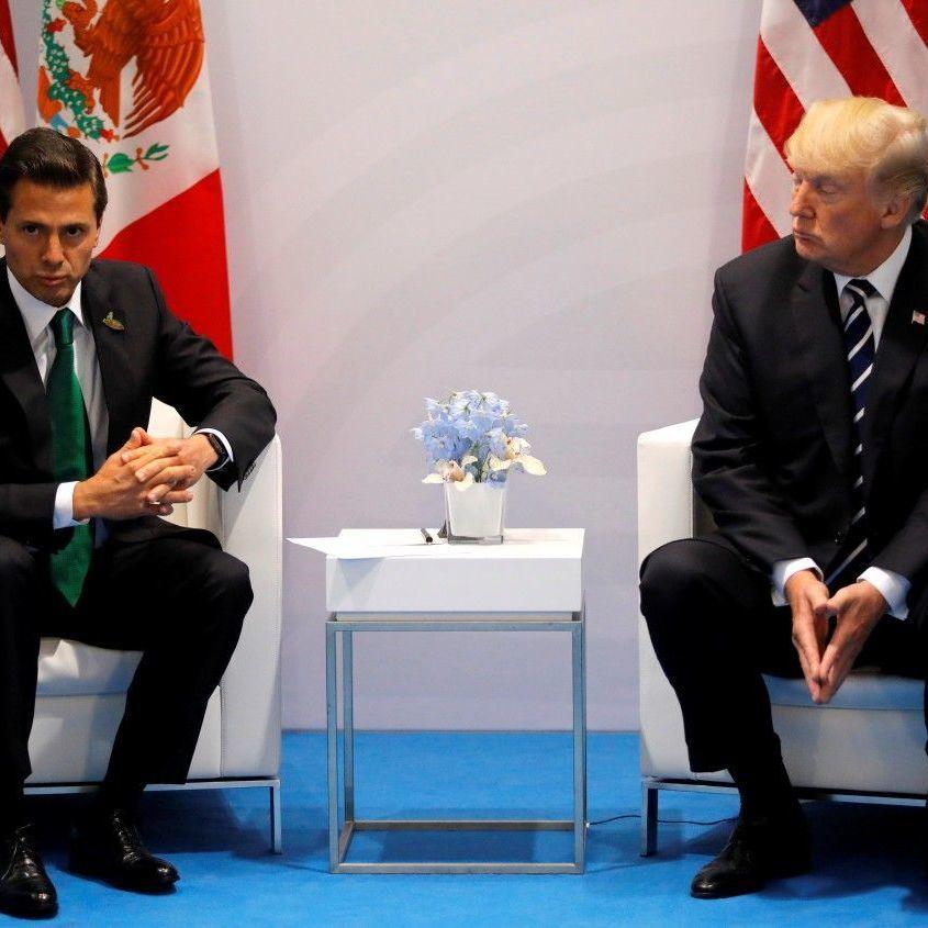 Через суперечку із Трампом, президент Мексики скасував візит до США