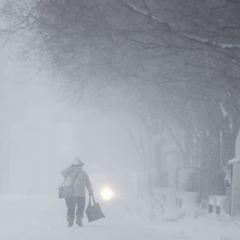 Сильні снігопади та хуртовини накриють завтра Україну