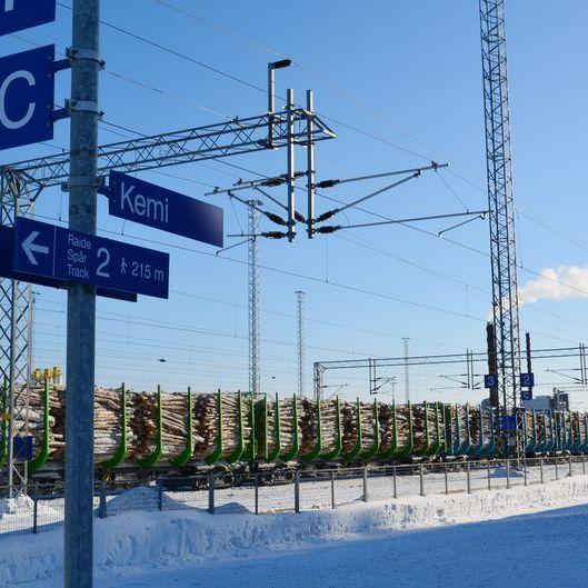 У Лапландії турист у піжамі та капцях відстав від нічного поїзда