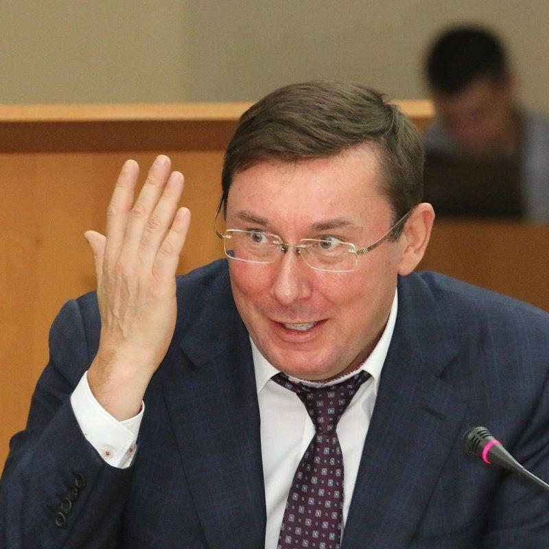 Генпрокурор Луценко біля свого будинку напав на активістів із сокирою (відео)