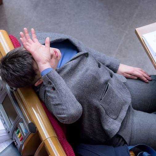 Подружка Добкіна-молодшого? Савченко підловили на дивній поведінці в Раді (фото)
