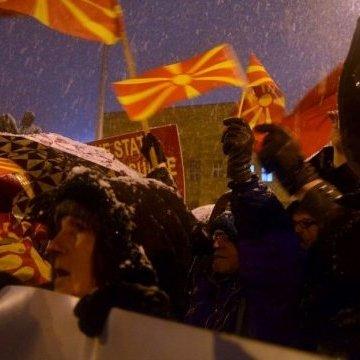 У Македонії протестували проти перейменування країни