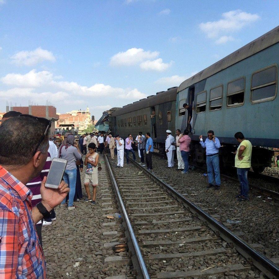 Зіткнення потягів у Єгипті: 15 зигиблих, 40 травмованих